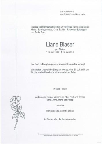 Liane Blaser