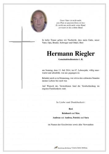 Hermann Riegler