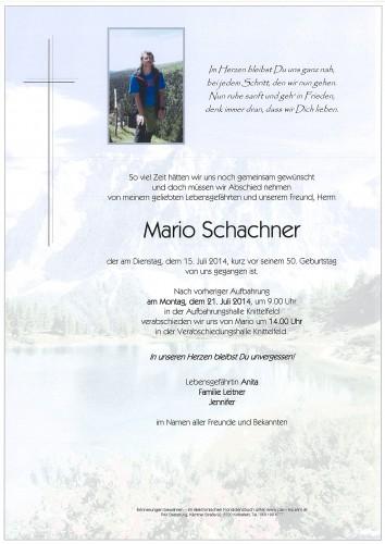 Mario Schachner
