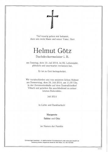 Helmut Götz
