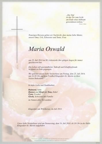 Maria Oswald