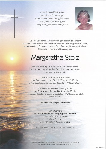Margarethe Stolz