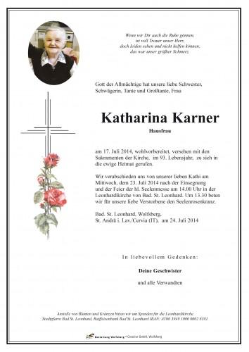 Katharina Karner