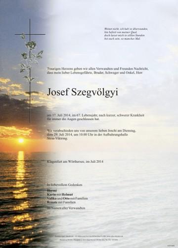Josef Szegvölgyi