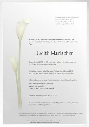 Judith Mariacher