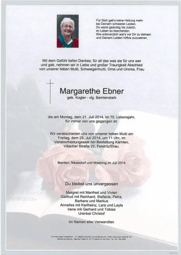 Margarethe Ebner