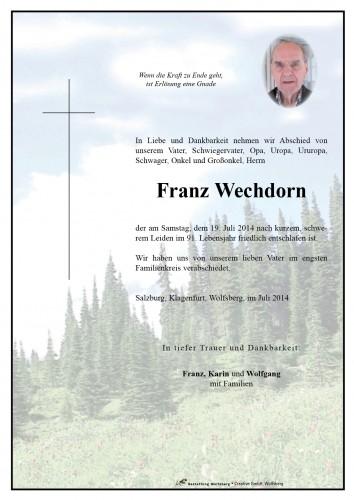Franz Wechdorn