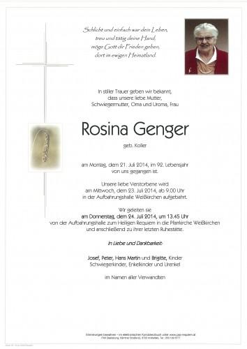 Rosina Genger
