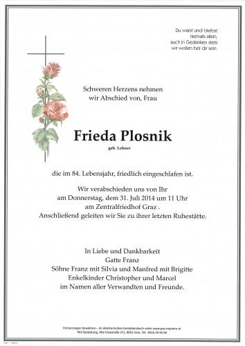 Frieda Plosnik