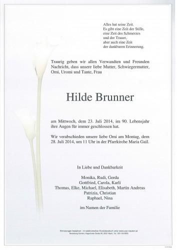 Hilde Brunner