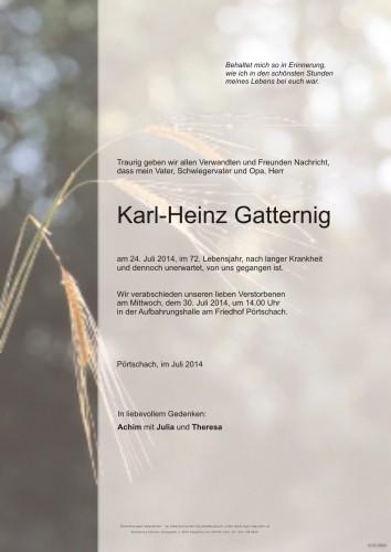 Karl-Heinz Gatternig