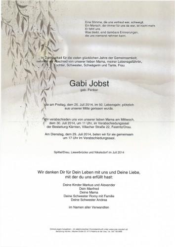 Johanna Gabriele Jobst