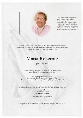 Maria Rebernig