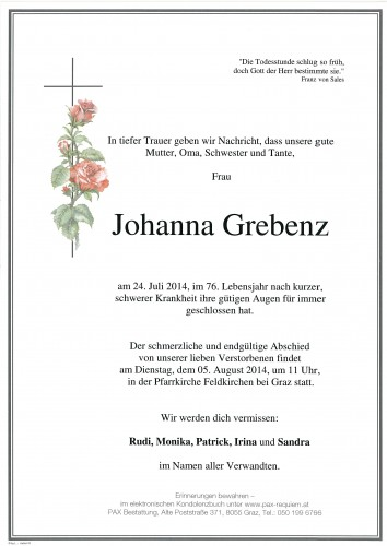 Johanna Grebenz