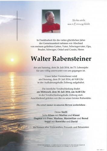 Walter Rabensteiner