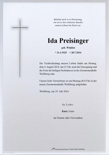 Ida Preisinger