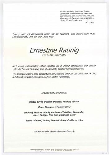Ernestine Raunig