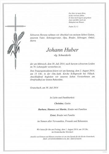 Johann Huber