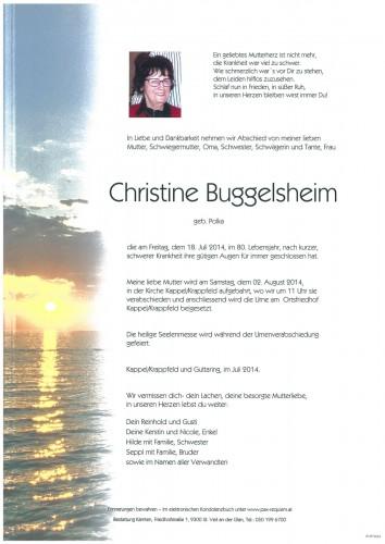 Christine Buggelsheim