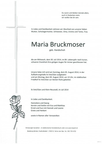 Maria Bruckmoser