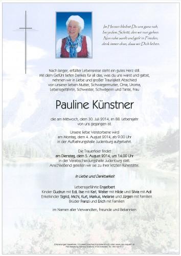 Pauline Künstner