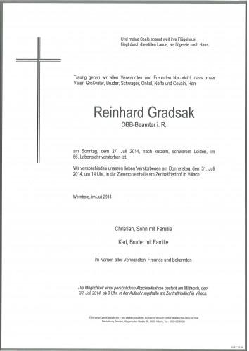 Reinhard Gradsak