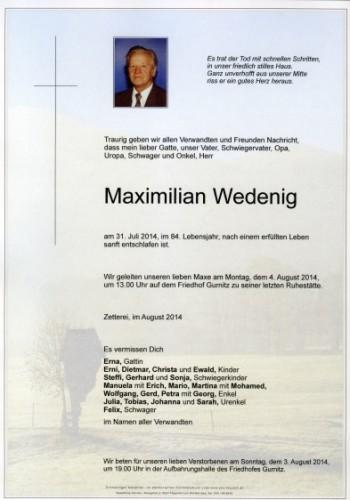 Maximilian Wedenig