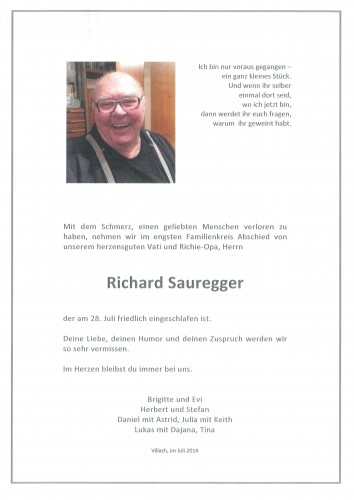 Richard Sauregger