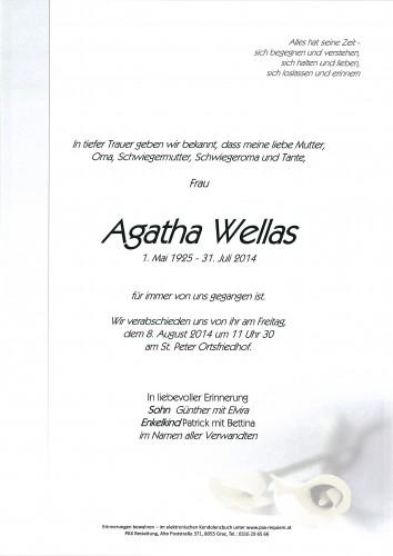 Agatha Wellas