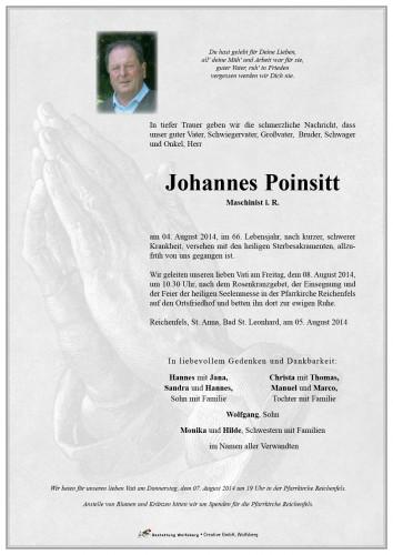Johannes Poinsitt