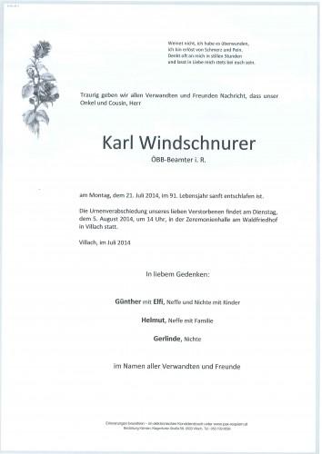 Karl Windschnurer