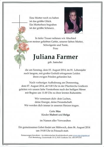 Juliana Farmer