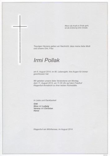 Irmi Pollak