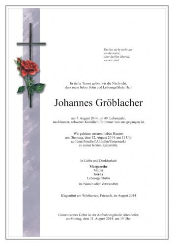 Johannes Gröblacher