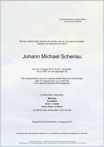 Johann Michael Scheriau