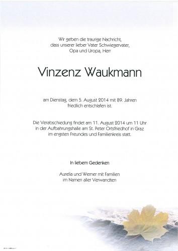 Vinzenz Waukmann