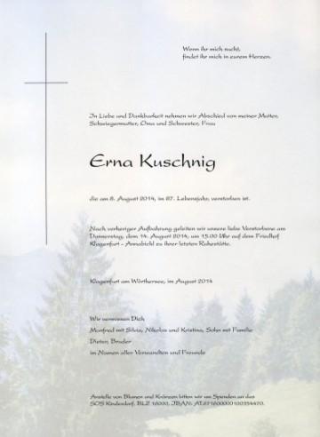 Erna Kuschnig