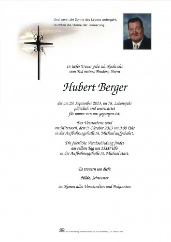 Hubert Berger