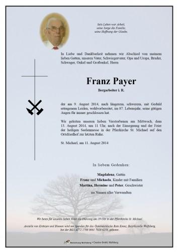 Payer Franz