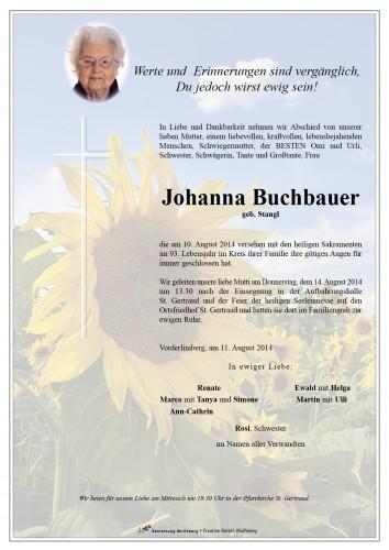 Buchbauer Johanna
