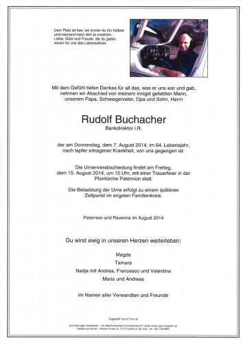 Rudolf Buchacher