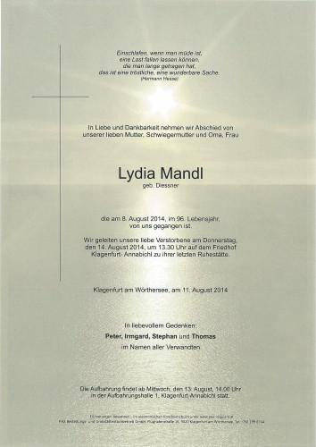 Lydia Mandl