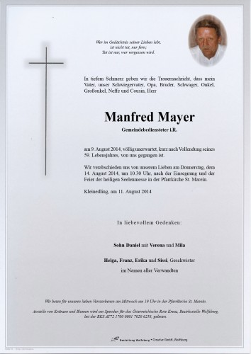 Manfred Mayer