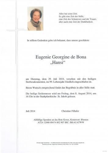 Eugenie de Bona