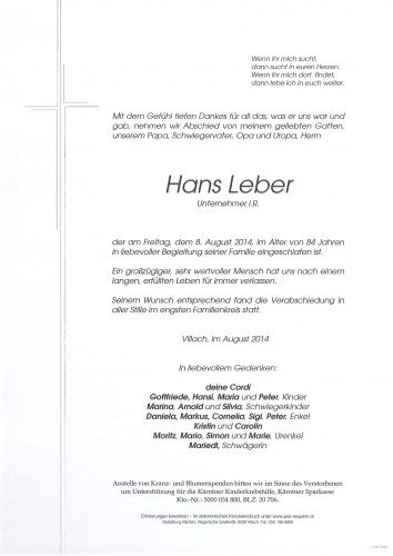 Hans Leber