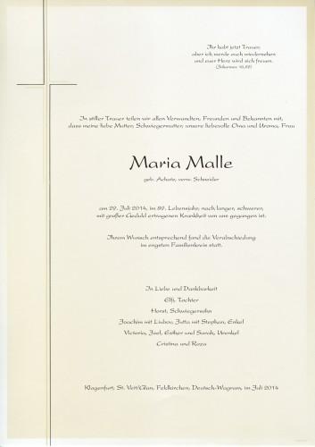 Maria Malle