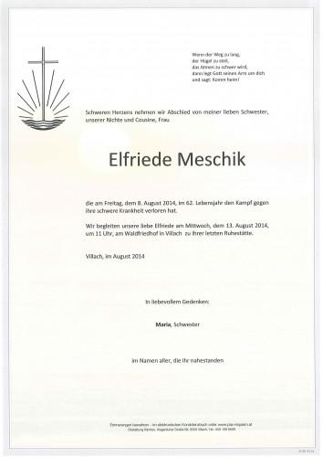Elfriede Meschik