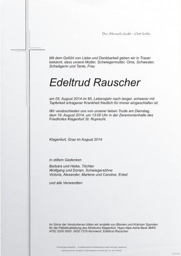 Edeltrud Rauscher
