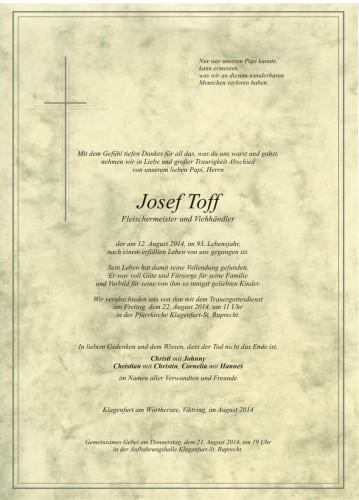 Josef Toff