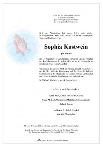 Sophia Kostwein